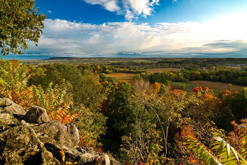 rattlesnake point, milton ontario