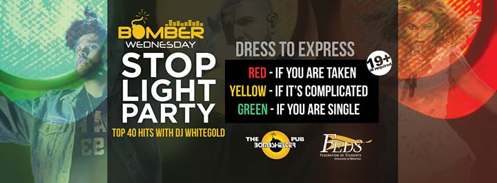stop light party at the bomber