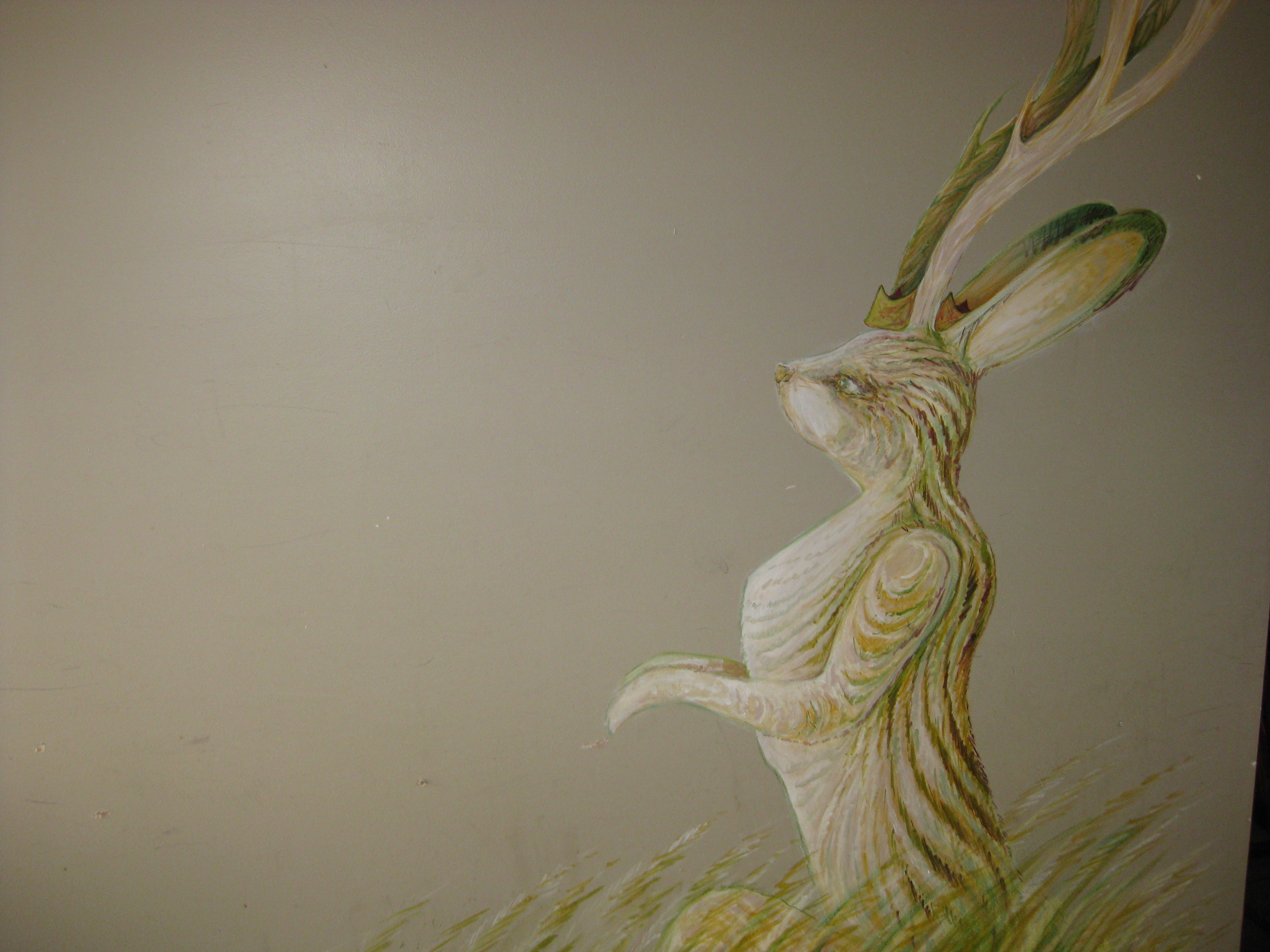 painting of a Jackalope