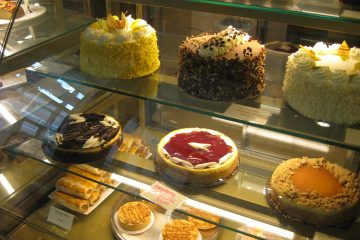 Cakes at Nougat Bakery
