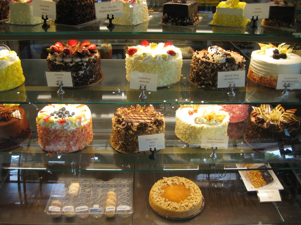 various cakes