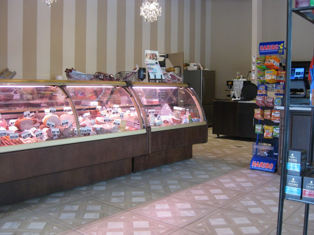 delicatessen counter