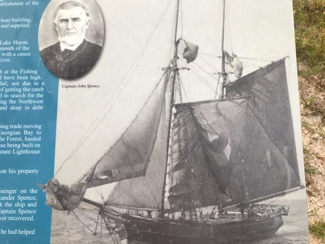 captain john spence and boat