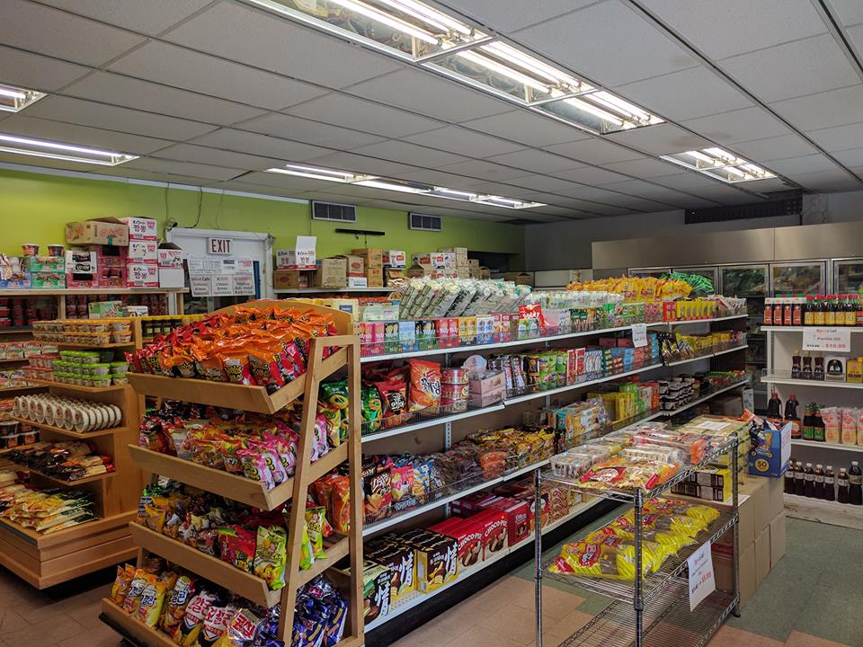 Korean supermarket