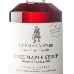 375ml Organic Maple Syrup, Amber Rich Taste