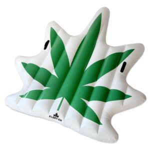 Cannabis Leaf Float